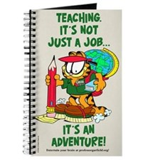 It's an Adventure Garfield Journal