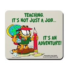 It's an Adventure Garfield Mousepad
