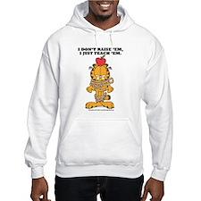 Teach 'em Garfield Hoodie