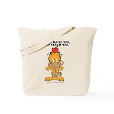 Teach 'em Garfield Tote Bag