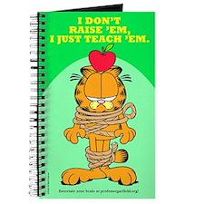 Teach 'em Garfield Journal