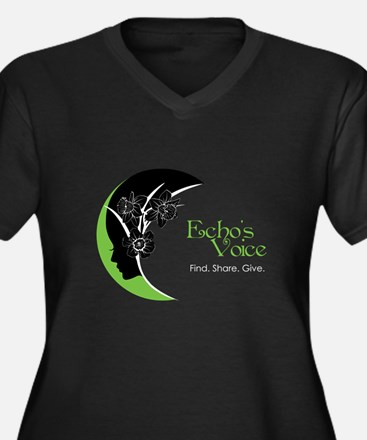 ev_oval Plus Size T-Shirt