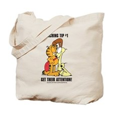 Get Their Attention, Garfield Tote Bag