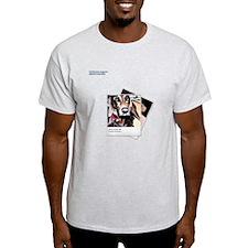 Dog Sitting Still Light T-Shirt