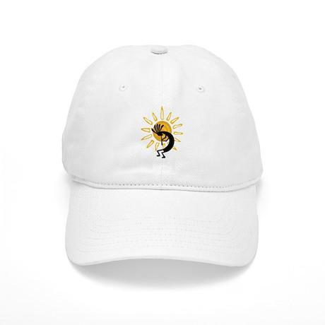 Hopi Kokopelli Gold Cap
