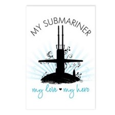 My Submariner My Love Postcards (Package of 8)