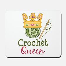 Crochet Queen Mousepad