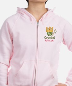 Crochet Queen Zip Hoody