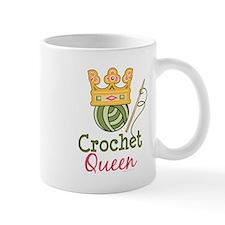 Crochet Queen Small Mug