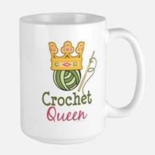 Crochet Queen Large Mug