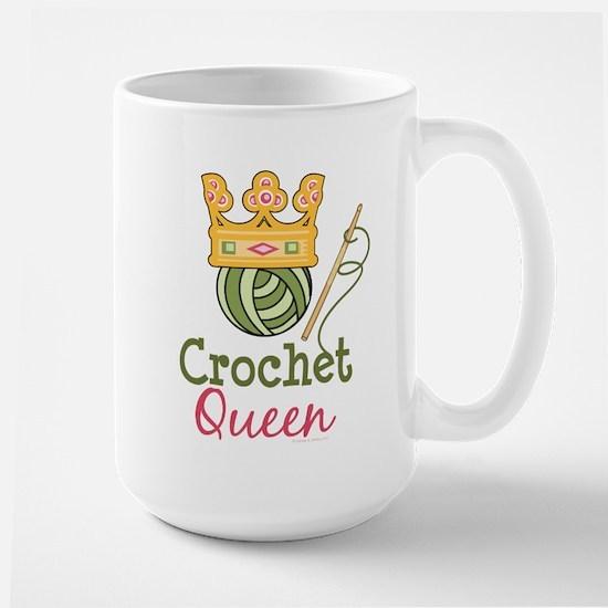 Crochet Queen Large Mug