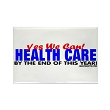 Yes We Can Reform Health Care! Rectangle Magnet