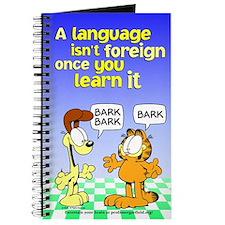 Foreign Language Garfield Journal