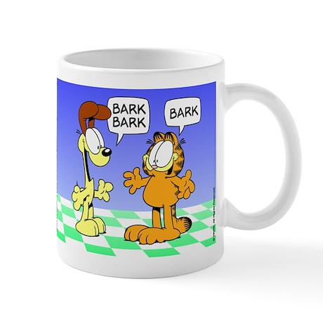 Foreign Language Garfield Mug