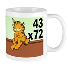 Math Problem Garfield Mug
