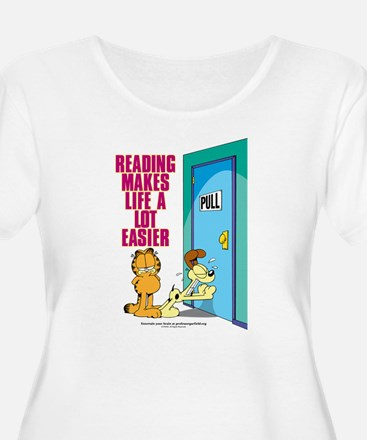 Reading Makes Life Easier T-Shirt