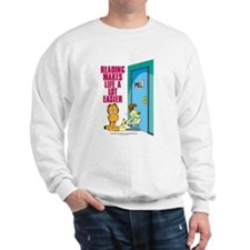 Reading Makes Life Easier Sweatshirt