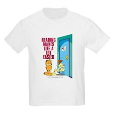 Reading Makes Life Easier T-Shirt