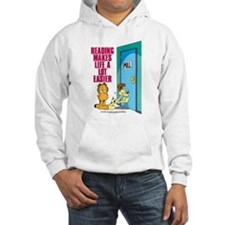 Reading Makes Life Easier Hooded Sweatshirt