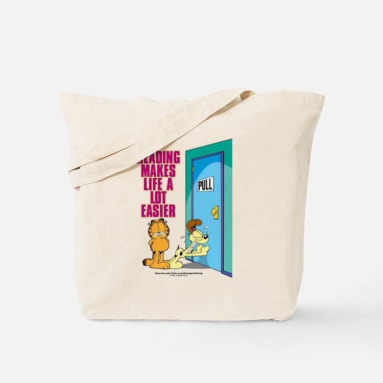 Reading Makes Life Easier Tote Bag