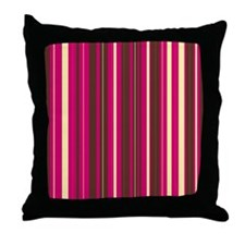 Funny Vertical stripes Throw Pillow