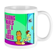 Reading Makes Life Easier Mug