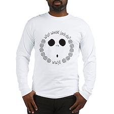 wwjd_eyes Long Sleeve T-Shirt