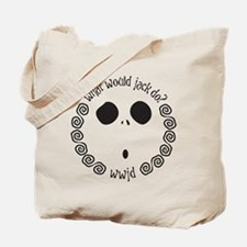 Funny What would poe do Tote Bag
