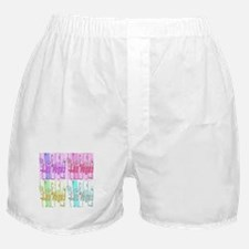 Las Vegas Pop Art Boxer Shorts