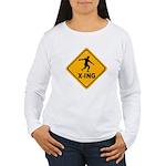 Discus X-ing Women's Long Sleeve T-Shirt