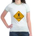 Discus X-ing Jr. Ringer T-Shirt