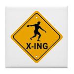 Discus X-ing Tile Coaster