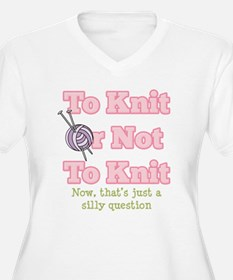 To Knit Or Not To Knit T-Shirt