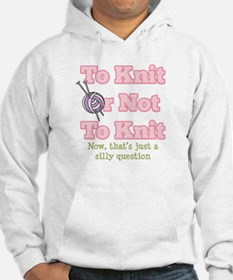 To Knit Or Not To Knit Hoodie