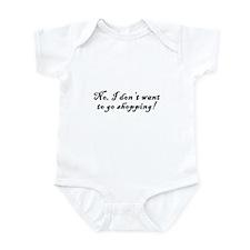 No Shopping Infant Bodysuit