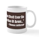 The Use Of Arms... Mug
