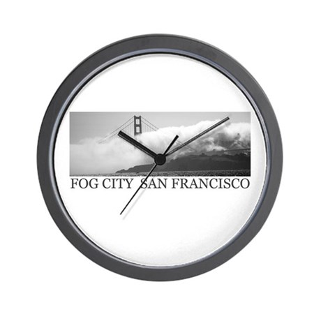 Fog City Gifts Wall Clock