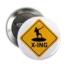 """Shot Put X-ing 2.25"""" Button (10 pack)"""