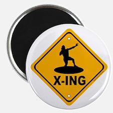 """Shot Put X-ing 2.25"""" Magnet (10 pack)"""