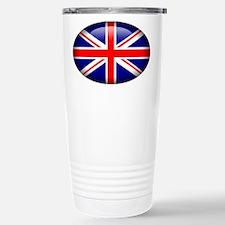 Gel Look UK Flag Stainless Steel Travel Mug