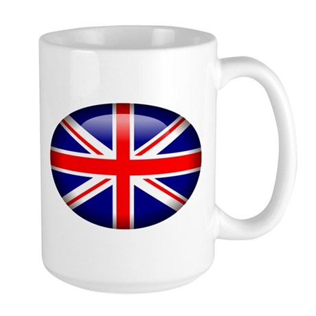 Gel Look UK Flag Large Mug
