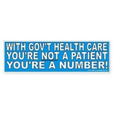 Not a patient (sticker)