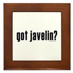 got javelin? Framed Tile