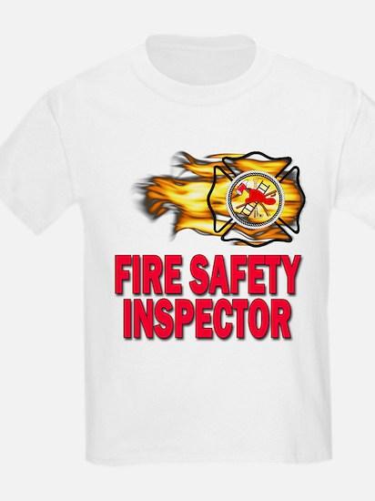Fire Safety Inspector Ash Grey T-Shirt
