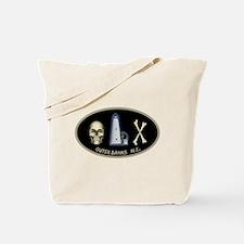 OBX-Ocracoke Skull-n-Bones Tote Bag