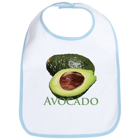 Avocado and Half Bib