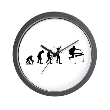 Hurdle Evolution Wall Clock