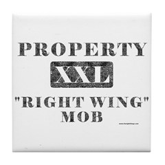 Right Wing Mob Tile Coaster