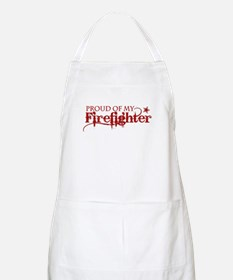 Proud of my Firefighter BBQ Apron