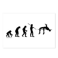 High Jump Evolution Postcards (Package of 8)